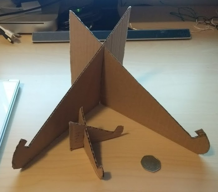 How to make a recycled cardboard laptop stand | designs & ideas on.