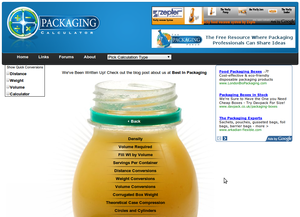 Packaging Calculator